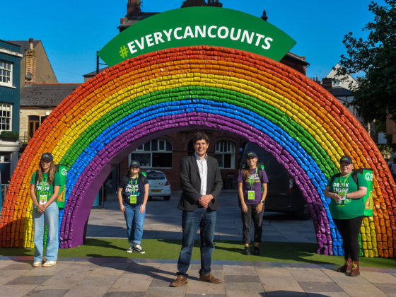 The #EveryCanCounts Rainbow Comes To Cardiff